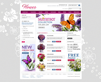 Flowers – Beautiful Florist Store Magento Theme