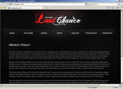 Website Template #32200