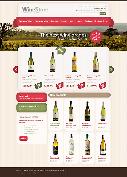 Wine store – Remarkable Wine Shop Theme