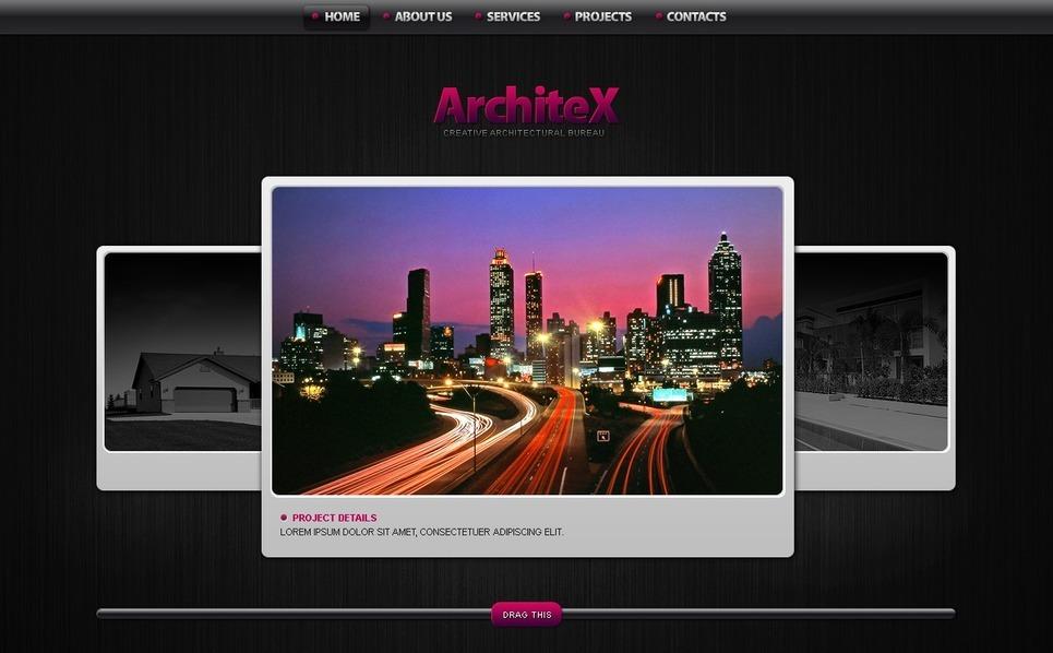 Architecture Flash Template New Screenshots BIG