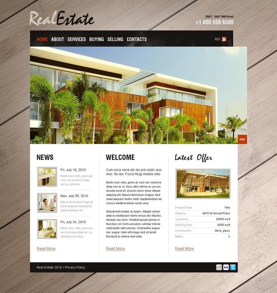 Real Estate Agency Turnkey Website 2.0