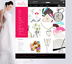 Wedding romance - PrestaShop Theme #32443 by Delta