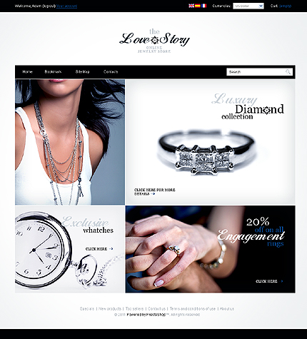 Love and story - Fulgurating Online Jewellery Store PrestaShop Theme