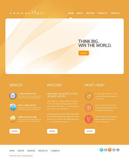 Website Template #32674