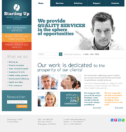 Website Template #32870