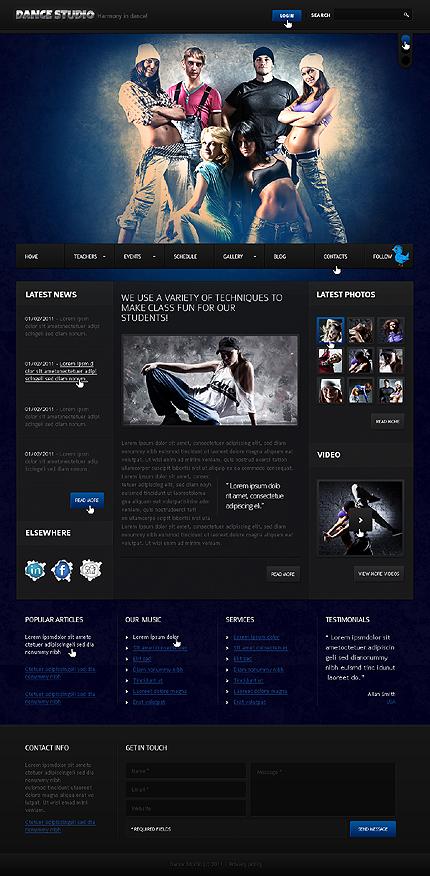 Website Template #33061