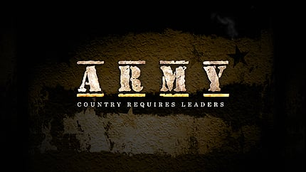 Army After Effects Logo Reveal AE Intro Screenshot
