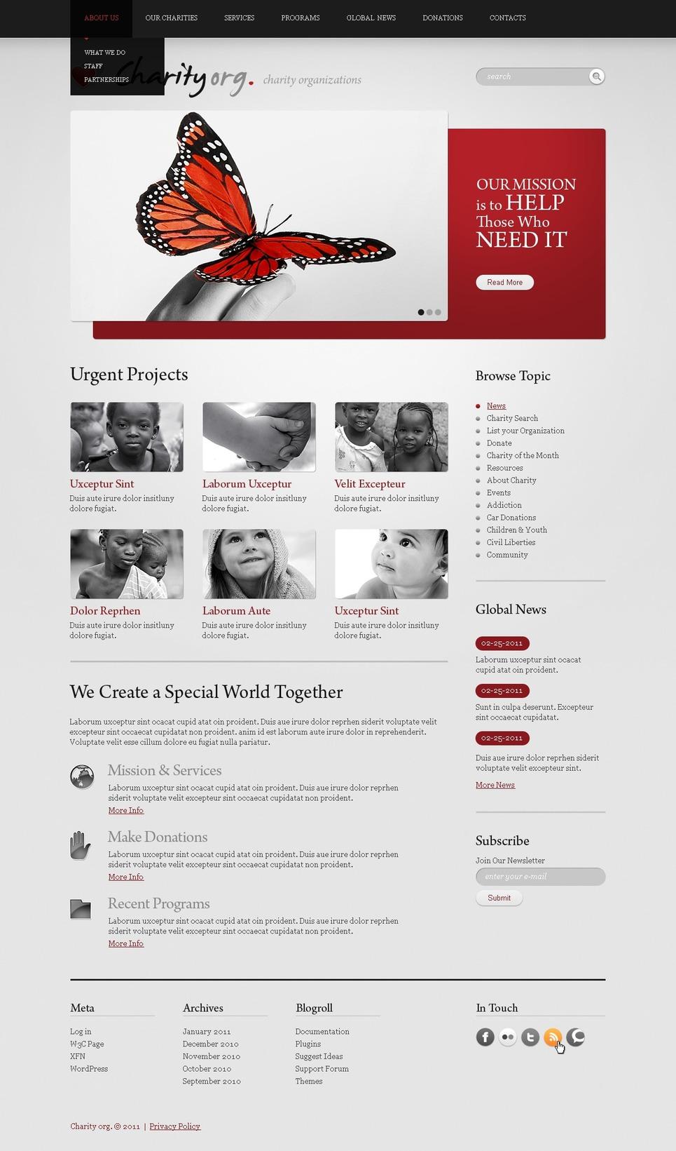 Charitiy.org - Best WordPress Charity Organization Theme