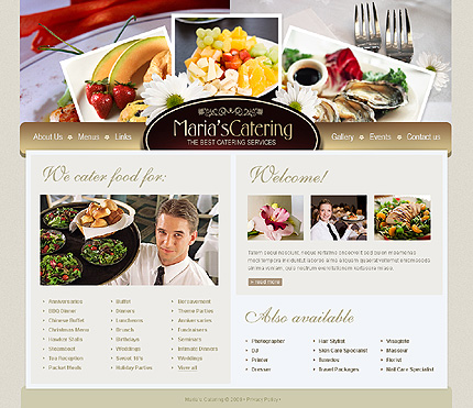 Website Template #33172