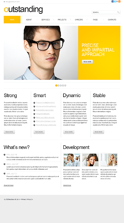 Website Template #33233