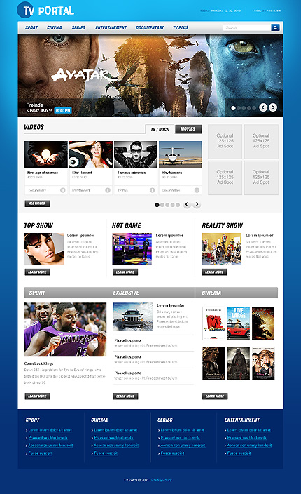 Website Template #33290