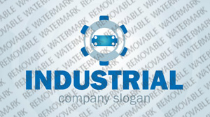 Industrial Logo Template vlogo