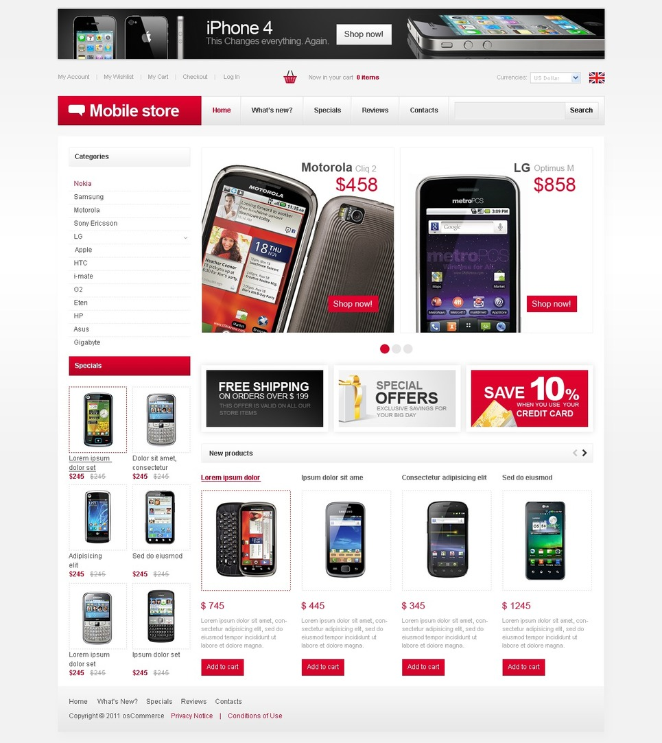 Go Smart Mobile Portfolio Design