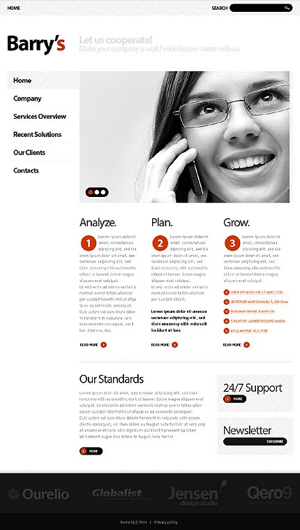 Website Template #33461