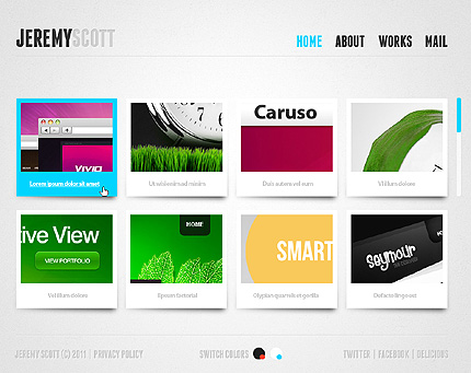 Website Template #33502