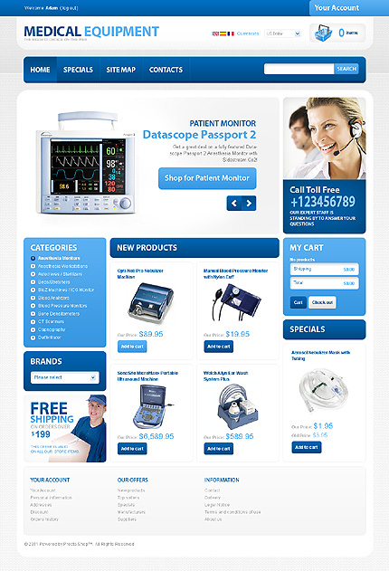 Medical equipment - Sanitary Online Medical Equipment Store PrestaShop Theme
