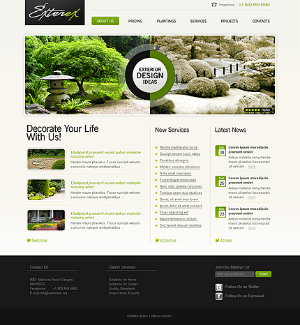 Website Template #33601