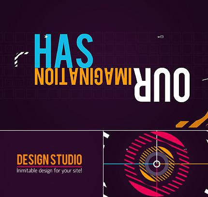 Design Studio Flash Intro Template FLASH INTRO SCREENSHOT