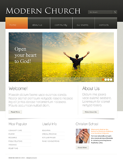 Website Template #33768