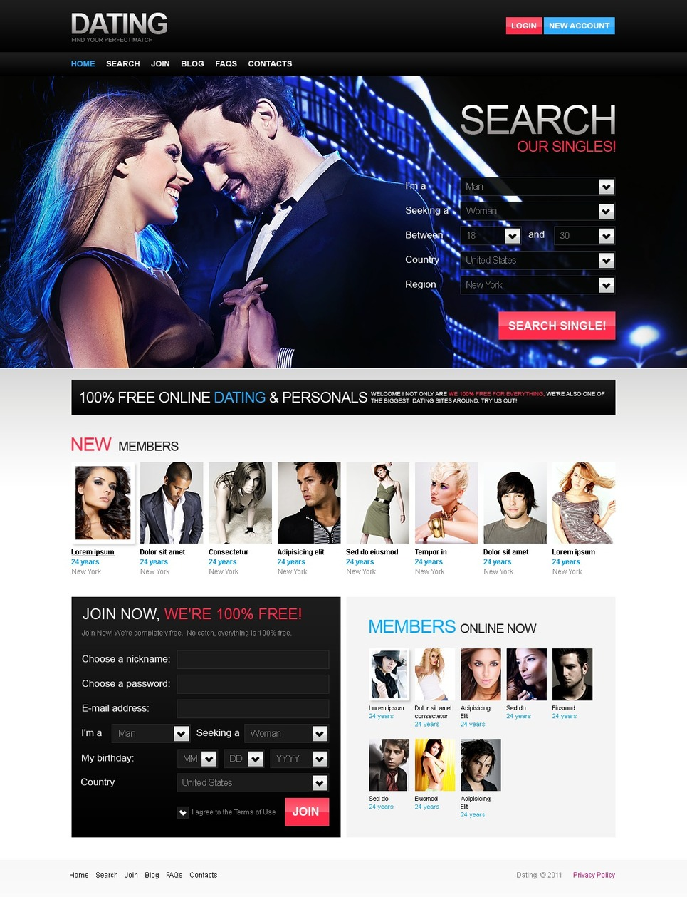 dating web templates free download Dating websites are a great way for people to meet partners online unless you have developed your own website from scratch, you're going to need to pay someone dating websites templates free download through the nose to get this designed.