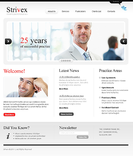 Website Template #33897