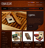 Stylish Cigar Store - PrestaShop Theme #33904 by Astra