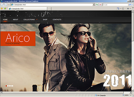 Website Template #33926