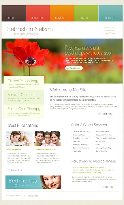 Заказ создания сайта или интернет магазина на тему , на основании шаблона №33932.
