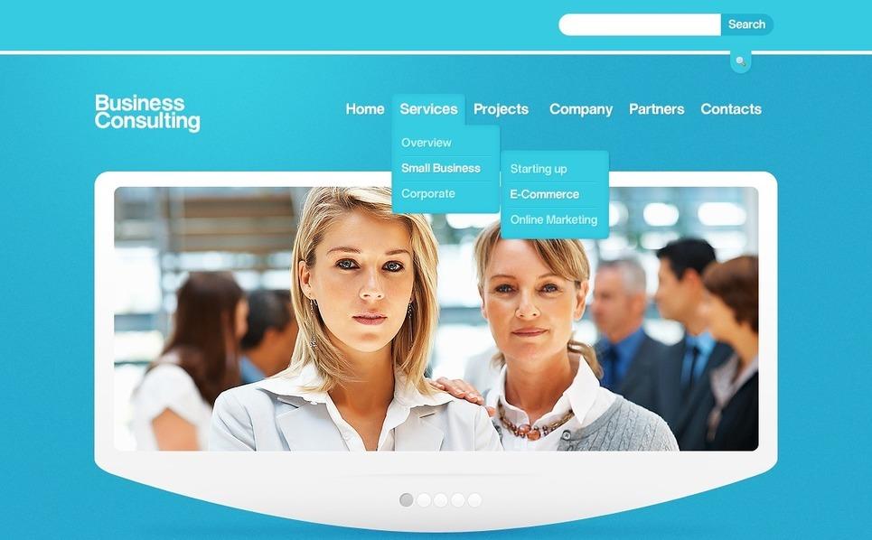 Consulting Joomla Template New Screenshots BIG