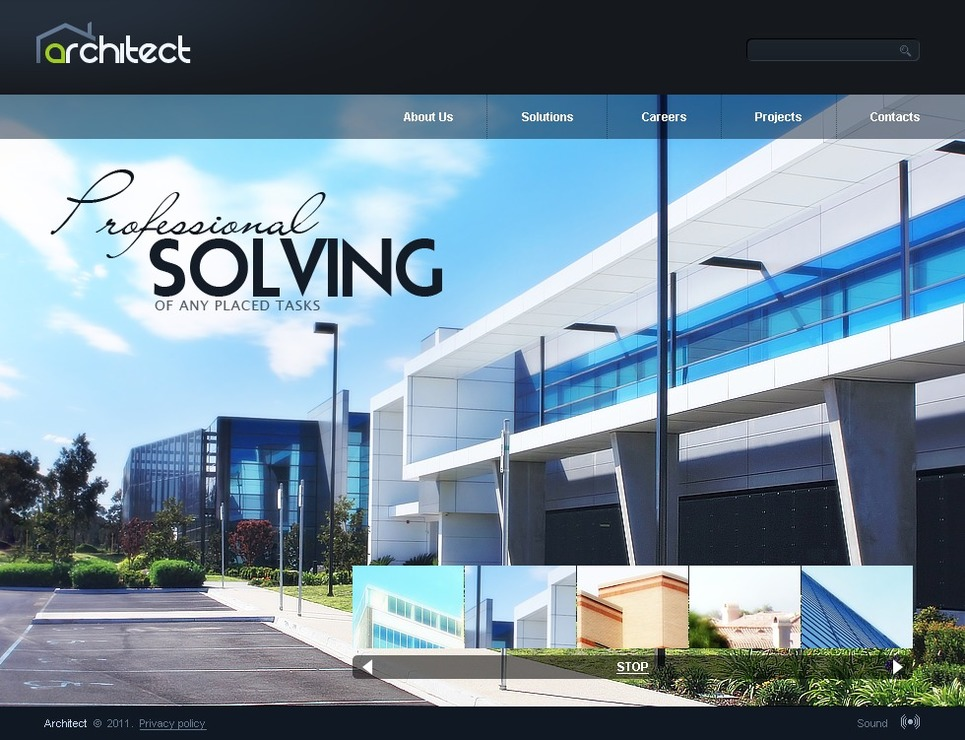 Architecture SWiSH Template New Screenshots BIG