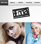 Facebook Flash CMS Theme #34031