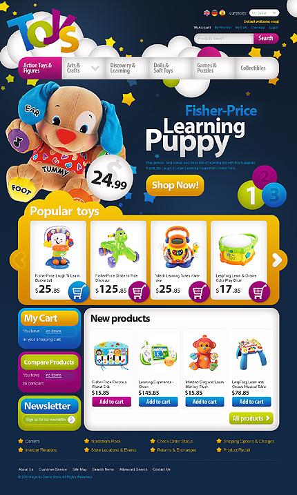 Toys - Energizing Toy Store Magento Theme