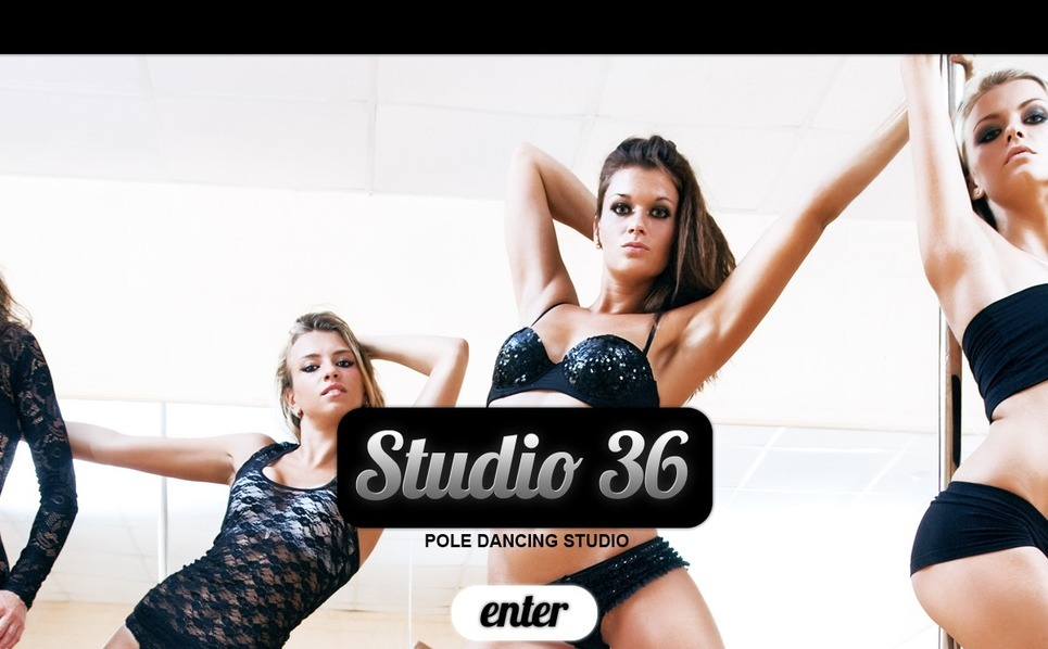 Dance Studio Website Template New Screenshots BIG