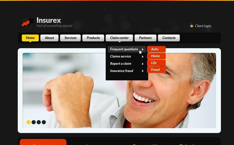 Insurance Website Template New Screenshots BIG