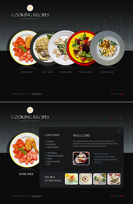 Website Template #34262