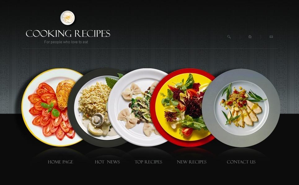 Cooking SWiSH Template New Screenshots BIG