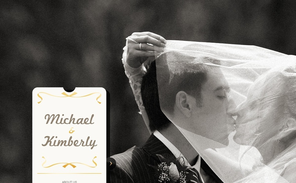 Wedding Album Flash CMS Template New Screenshots BIG