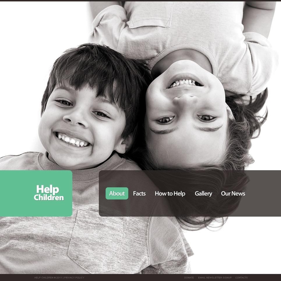 Child charity - Amazing Child Charity WordPress Theme