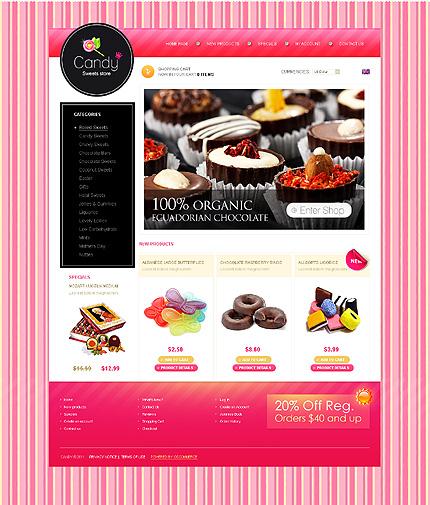 Заказ создания сайта или интернет магазина на тему , на основании шаблона №34293.