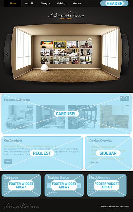 Interior Design Wordpress Theme 34322
