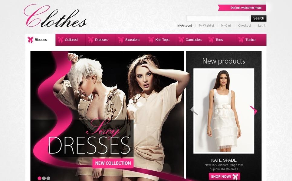 Fashion Magento Theme New Screenshots BIG