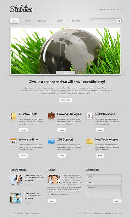Website Template #34421