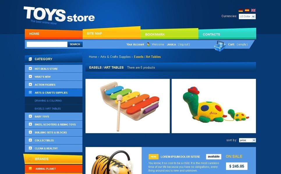 Best Toys PrestaShop Theme New Screenshots BIG