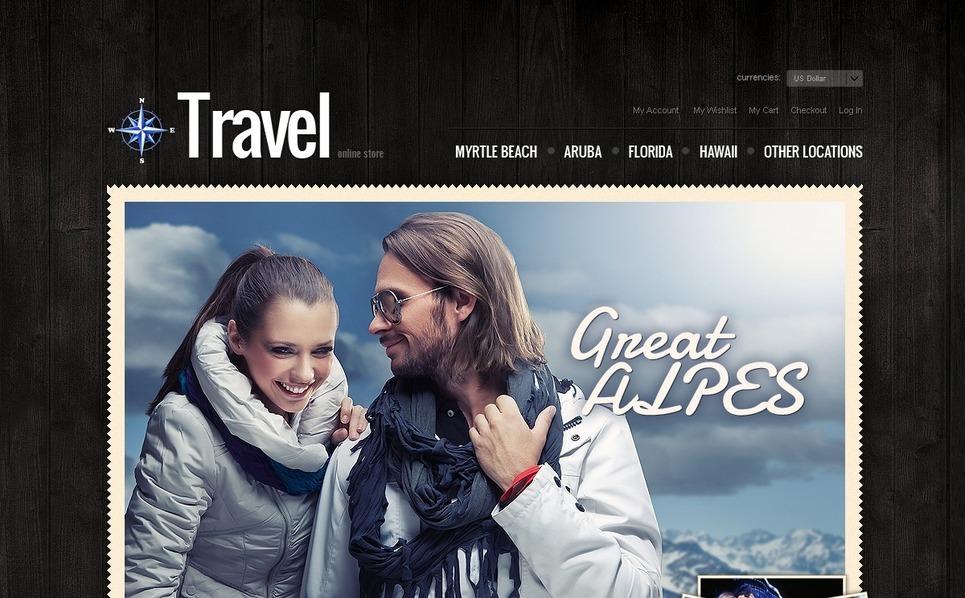 Travel Agency Magento Theme New Screenshots BIG