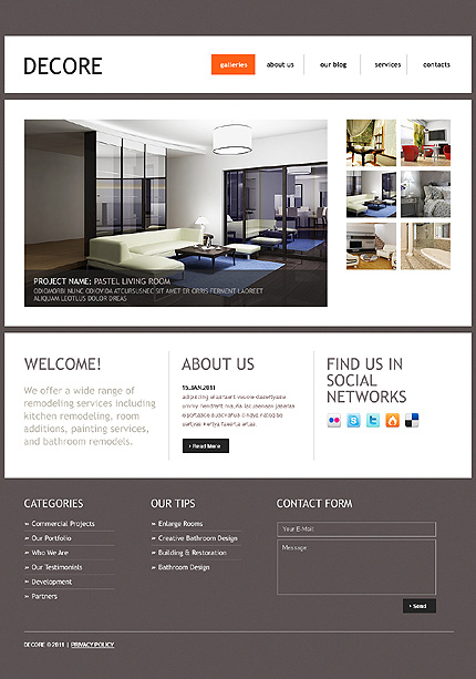 Website Template #34569