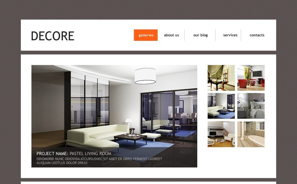 Home Decor Joomla Template New Screenshots BIG
