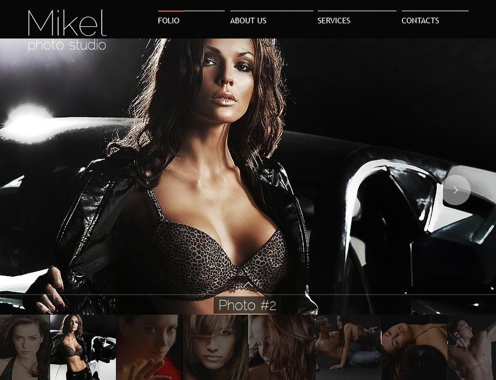 Photo Studio Flash Template New Screenshots BIG