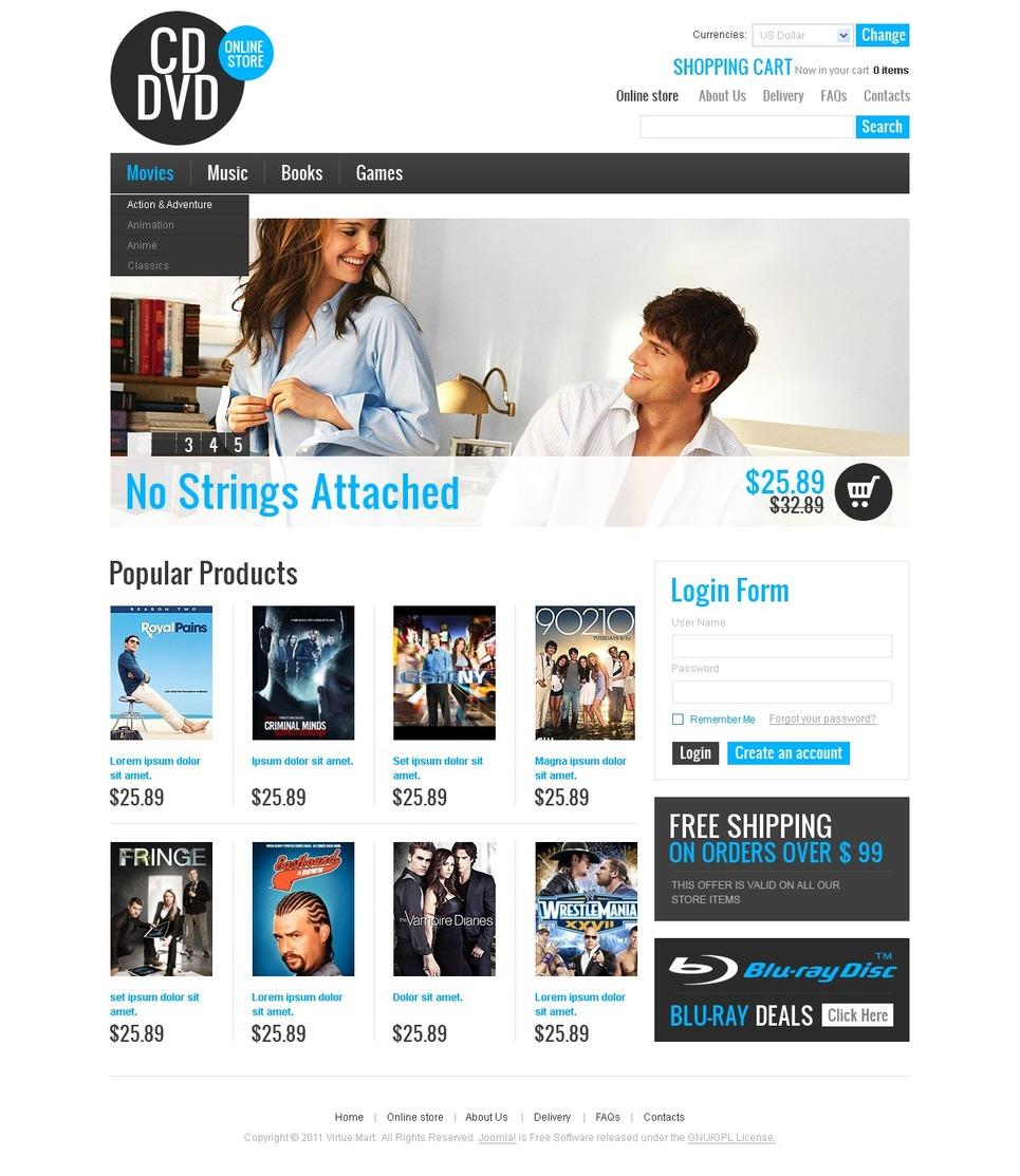Шаблоны сайтов на dvd