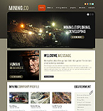 Website template #34661 by Delta
