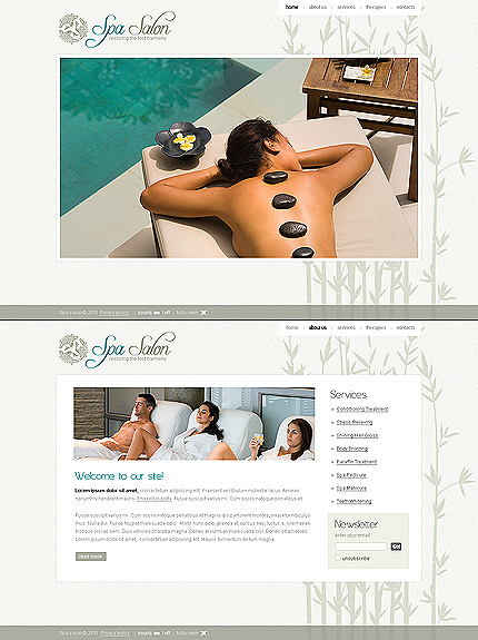 Website Template #34687